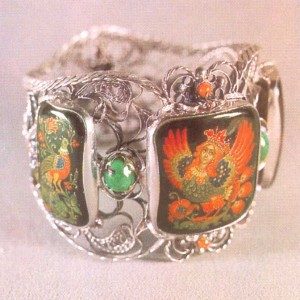 Bracelet the Bird Sirin.