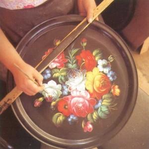 a tray