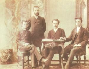 Morozov, A.S. Arensky, S.V. Rachmaninov 1892.