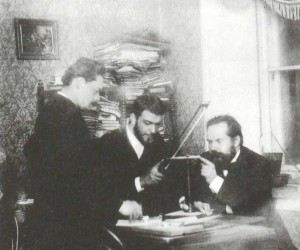A.S. Arensky, N.N. Zvantsev and S.I. Taneyev
