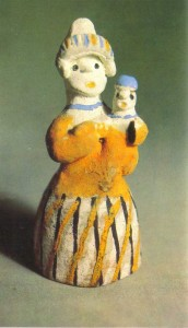 Figurine of a woman with a child