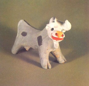 Figurine of a cow