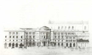 The building reconstruction and new concert hall design
