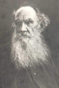 Lev Nickolayevich Tolstoy (1828-1910), writer.