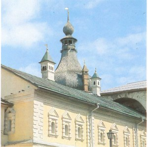 the facade of the Rostov Citadel
