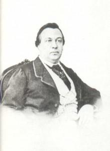 Ivan Vassilyevich Samarin (1817-1885), dramatic actor. Teacher of declamation and dramatic art (1872-1885)