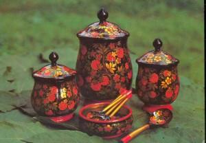 Painted and designed by L. Polyashova. Semyonov. 1979.
