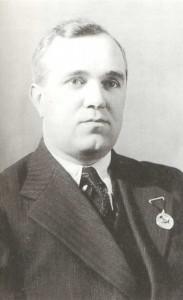Boris Alexandrovich Alexandrov, pupil of R.G. Gliere, composer, choral conductor.