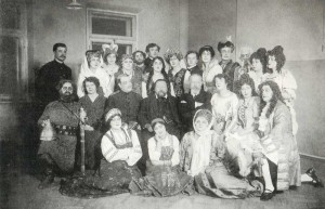 among the operatic class students of the Conservatoire.