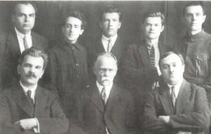 I.P. Musian, V.V. Khvostenko, N.A. Sidushin, G. K. Pukst (1927).