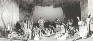 "Scene from Rimsky-Korsakov`s ""Snow Maiden"""
