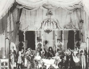 "Scene from Mozart`s ""Cosi fan tutte"""