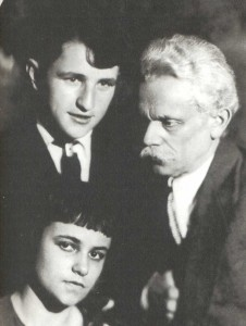 Alexander Borisovich Goldenweiser (1875-1961), pianist, composer. Professor of piano (1906-1961), assistant director and prorector