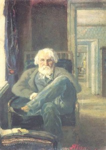 Portrait of I.Turgenev