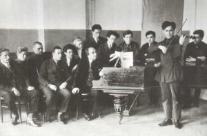 Borid Osipovich Sibor (1880-1961), violinist, Professor of violin (1921-1951, since 1923 - profesof)