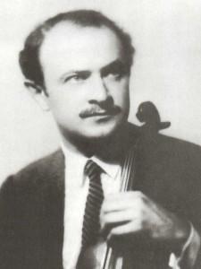 violinist. Professor of violin
