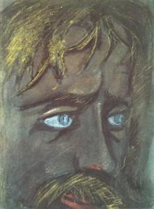 Portrait of V. Khlebnikov