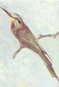 V. Khlebnikovб  A bird. The early