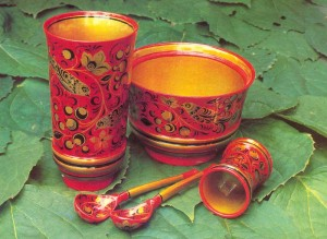 Painted by N. Morozova, designed by Ye. Dospalova. Semyonov. 1977.