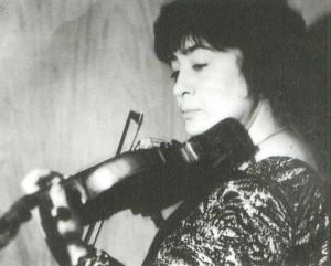 Marine Luarsabovna Yashvili, violonist
