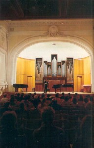 Small Hall of the Conservatoire