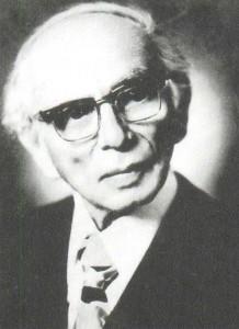 Leo Moritzevich Ginzburg, conductor, pianist.