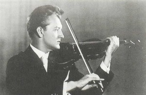 Valery Klimov, 1st - prize winner in violin