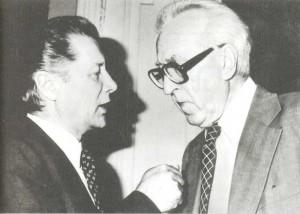 Dmitry Borisovich Kabalevsky and Andrei Yakovlevich Eshpai