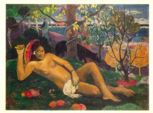 Paul Gauguin. The King's Wife