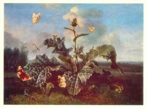 Otto Marsueus van Schrieck, Dutch school, Burdock