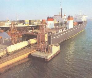 Odessa port of Ilichovsk