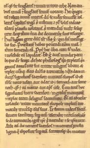 Contents of the Manuscript