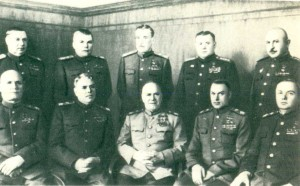 Front commanders