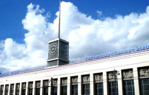 """pl. Lenin Str. Komsomol, the Metro station """"Ploshchad Lenina"""""""