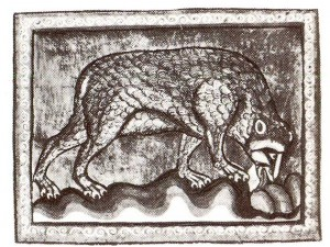 Bestiary of the Bodleian Lidrary. Oxford