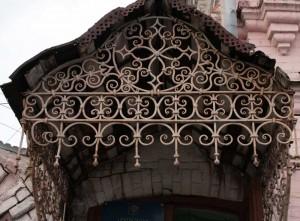 The old facade