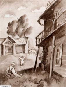 Oblomov's childhood