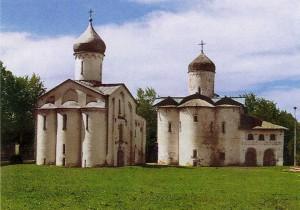 Yaroslav's Court in Novgorod. XII century.