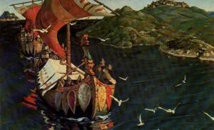 Artist Nicholas Roerich. 1901