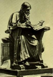 Sculptor M.Antokolsky. 1890