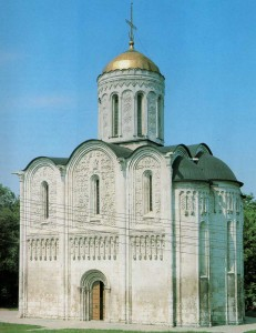 Demetrius Cathedral in Vladimir. 1194-1197 years.