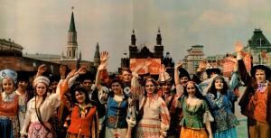 Representatives of the republics of the USSR's