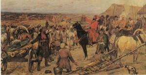 Artist M. Avilov. 1924