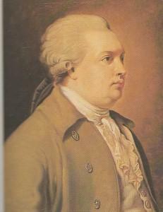 D. Fonvizin. Unknown Artist. XVIII century.