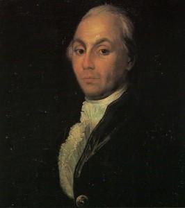 A. N.Radischev. Unknown Artist. XVIII century.