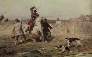 Artist P. Sokolov. 1860.