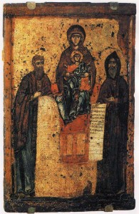 Icon of early 13th century