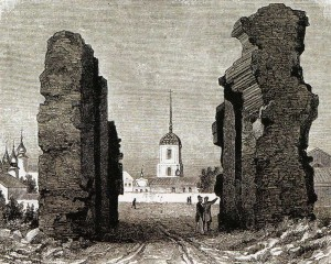 Engraving of the XIX century.