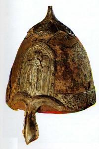 Helmet of Prince Yaroslav Vsevolodovich. (father of Alexander Nevsky).