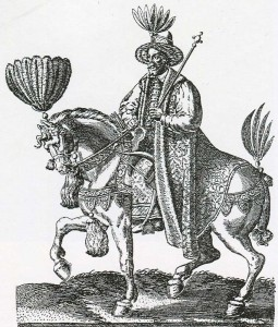 German engraving of XVI century.